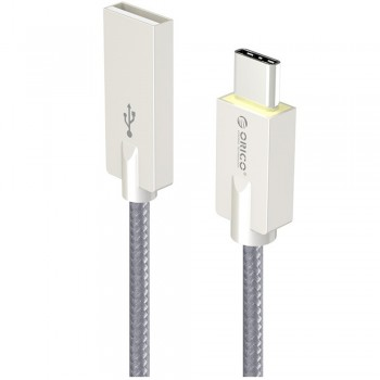 Orico HCU-10 USB Type A to Type C Charge & Sync Cable 1M - Gray