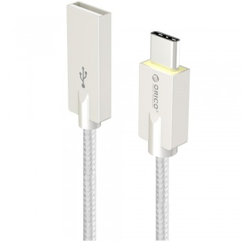 Orico HCU-10 USB Type A to Type C Charge & Sync Cable 1M - Silver