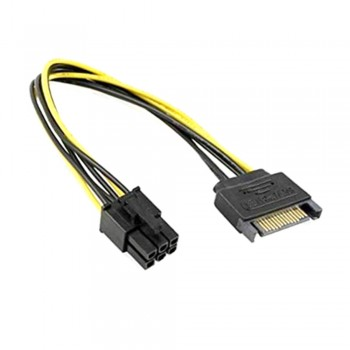 6 Pin to SATA Power Cable