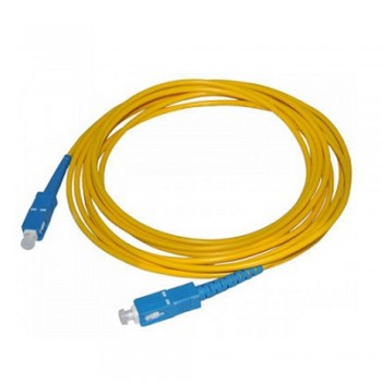SC-SC Single Mode Simplex Fiber Optic Unifi Maxis Time FTTH Cable 15 meter (S091)