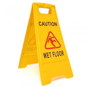 Caution Sign (Small) CAUTION WET FLOOR