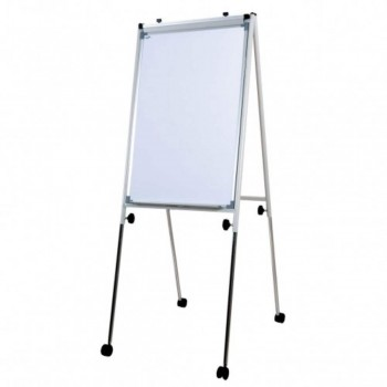 Conference Flip Chart FC23R - 111-198H x 66W x 61-98D - White (Item No: G05-22)