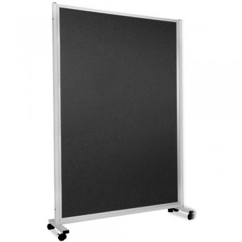 WP-MP35-FA7 MOBILE PANELS 94 x 180 x 43CM - Black (Item No : G05-178)