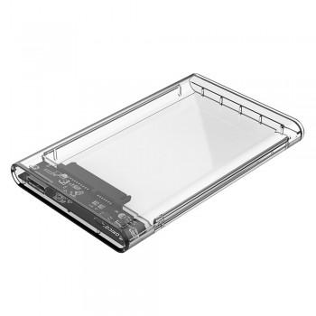 "Orico 2139U3 2.5"" Transparent USB3.0 Hard Drive Enclosure"