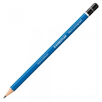 Staedtler Mars Lumograph Pencil 12/Box-B