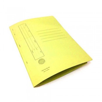 ABBA Flat File U-Pin Spring No. 102 Yellow