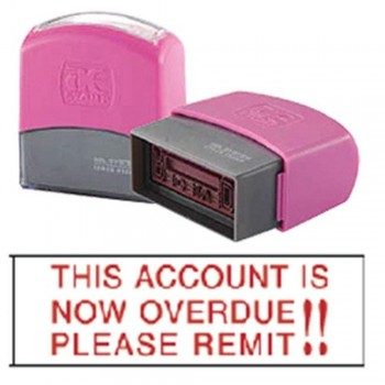 AE Flash Stamp - This Account Is Now Overdue!