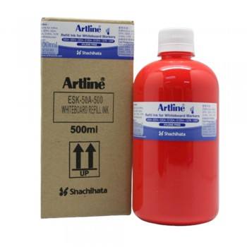 Artline White Board Refill 500cc Red