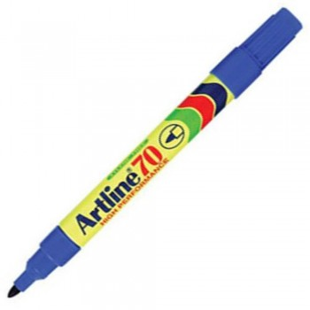 Artline 70 Permanent Marker EK-70 - Refillable 1.5mm Blue