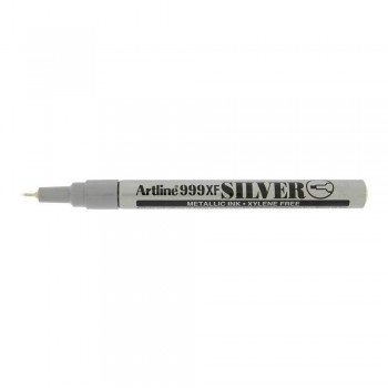 Artline 999XF Metallic Marker 0.8mm - Silver