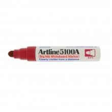 Artline 5100A whiteboard Big nib marker 5mm - Red