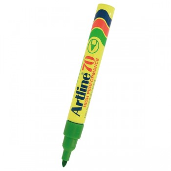 Artline 70 Permanent Marker EK-70 - 1.5mm Green (Refillable)