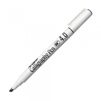 Artline EK-244 Calligraphy Pen 4mm - Black