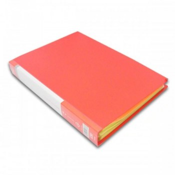 CBE 76060 Clear Holder A4 size - Red (Item No: B10-12 RD) A1R5B18