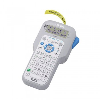 Casio Label Printer - 12 Digits, 1-Line LCD, Usable Tape Width, Large Display, Easy Reference Icon (KL-HD1)