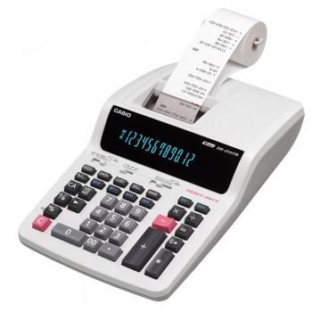 Casio Printing Calculator - 12 Digits, Heavy-Duty Type, Tax Calculation (DR-210TM)