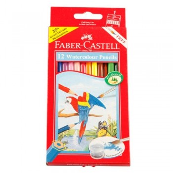Faber Castell Watercolour Pencil 12L (Item No: B05-14) A1R2B142