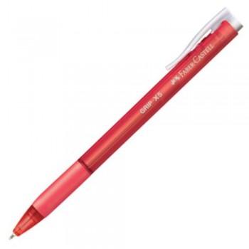 Faber Castell Grip X5 - Ballpoint Pen - Red (Item No: A02-08 GRIPX5RD) A1R1B24