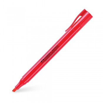 Faber Castell 38 Highlighter Textliner Red (157721)