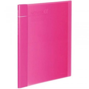 Kokuyo Novita Alpha Expandable Clear Book - Pink