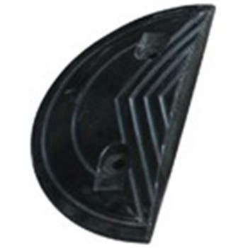 Rubber Speed Hump (End Piece ) (Item No:F14-26 EP)