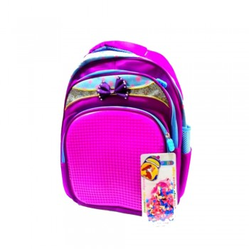 Puzzle Bag Big Size Purple (A1628)