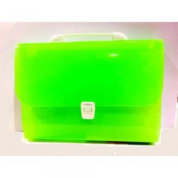 8701 Expanding File Green