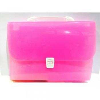 8701 Expanding File Pink