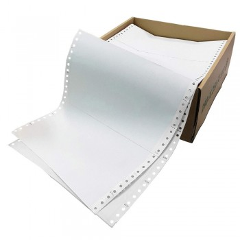 "Computer Form 2 ply 2 up NCR 9.5"" x 11"" (1000 Fans)"