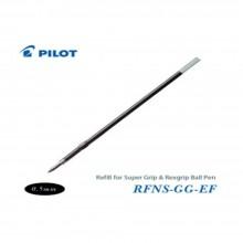 Pilot Super Grip Rexgrip Ball Pen Refill 0.5 Black (RFNS-GG-EF-B)