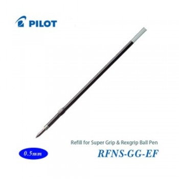 Pilot Super Grip Rexgrip Ball Pen Refill 0.5 Blue (RFNS-GG-EF-L)