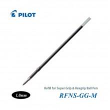Pilot Super Grip Rexgrip Ball Pen Refill 1.0 Black (RFNS-GG-M-B)