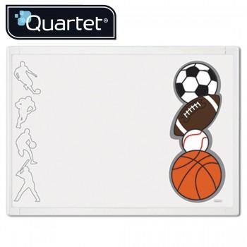 Quartet White Frame Sports Combination Board QBD30000