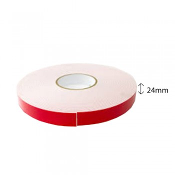 Double Sided PE Foam Tape (White) - 24mm X 8m