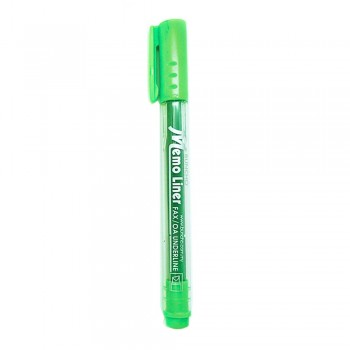 Buncho Memo Liner Highlighter-Green