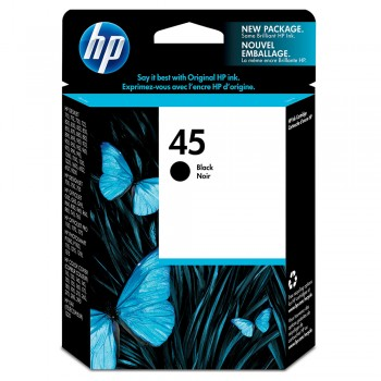 HP 45 Black Inkjet Print Cartridge (51645AA)