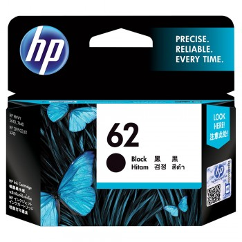 HP 62 Black Ink Cartridge (C2P04AA)