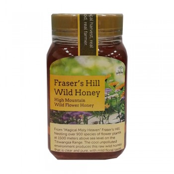 Oasis Wellness Fraser's Hill Wild Honey 500g