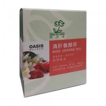Oasis Wellness Rose Jasmine Tea 8's