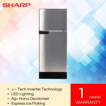 Sharp SJ189MS i-Huggy Series Refrigerator (170L)