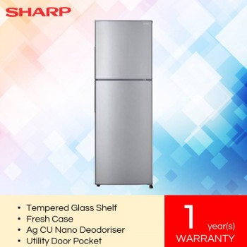 Sharp SJ285MSS Sharp Smile Refrigerator (280L)