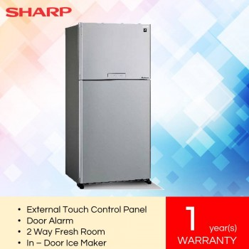 Sharp SJP80MFMK J-Tech Inverter Pelican 2 Door Refrigerator (720L)