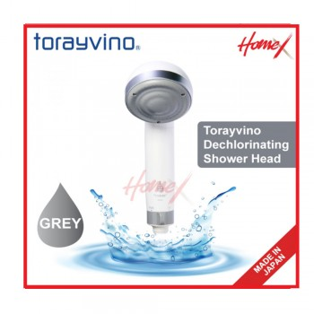 Torayvino Dechlorinating Shower Head (Grey)