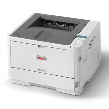 OKI B432dn Mono Printer B400 Series Duplex, Network LED Printer - 45762013