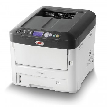 OKI C712n Color Printer C700 Series Network LED Printer - 46406118