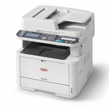 OKI MB472dnw A4 Mono Printer 4-in-1 MB400 Series Duplex, Network, Wireless LAN LED Printer - 45762104