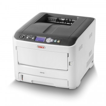 OKI C612n A4 Color Printer C600 Series Network LED Printer - 46406018