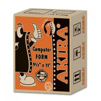 """Akira Orange Ncr 2Ply W 9.5"""" X 11"""" (450Fans)"""