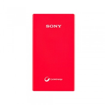 Sony USB Charger V5A 5000mah Red PowerBank